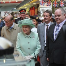 Royal visit to Accrington