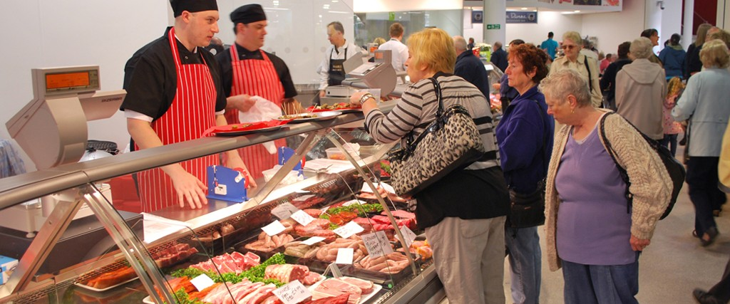 Blackburn Market butcher