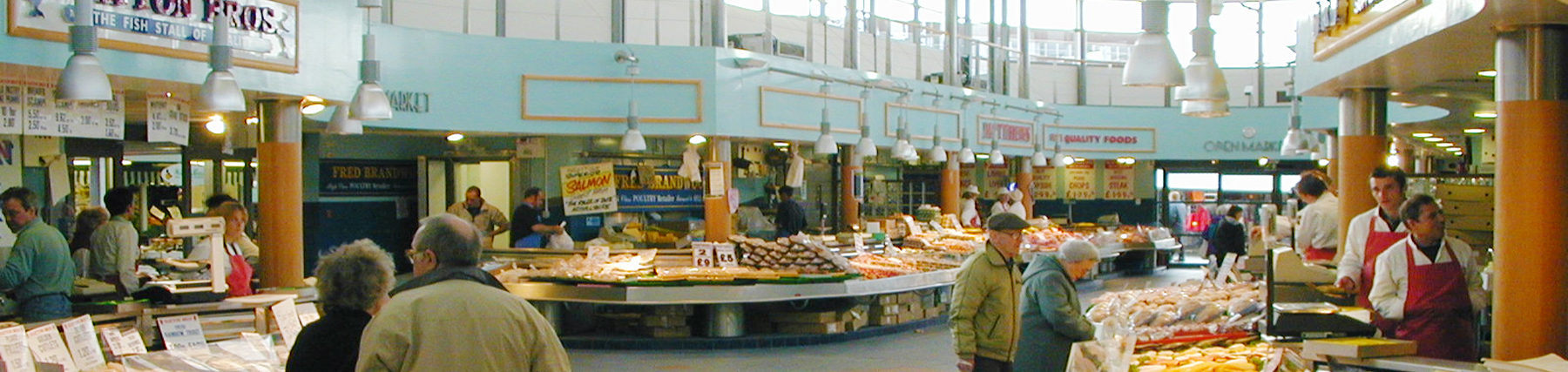 Bury meat and fish market