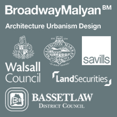 Quarterbridge clients broadway malyan, land securities, walsall, bassettlaw, savills
