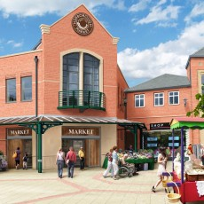 Market Harborough entrance