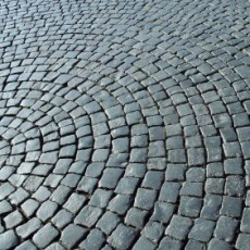 The English Market, Cork, paving