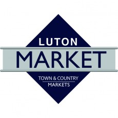 Luton market logo, designed by Quarterbridge