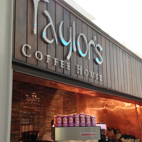 Taylor's coffee house, Woking Market Walk