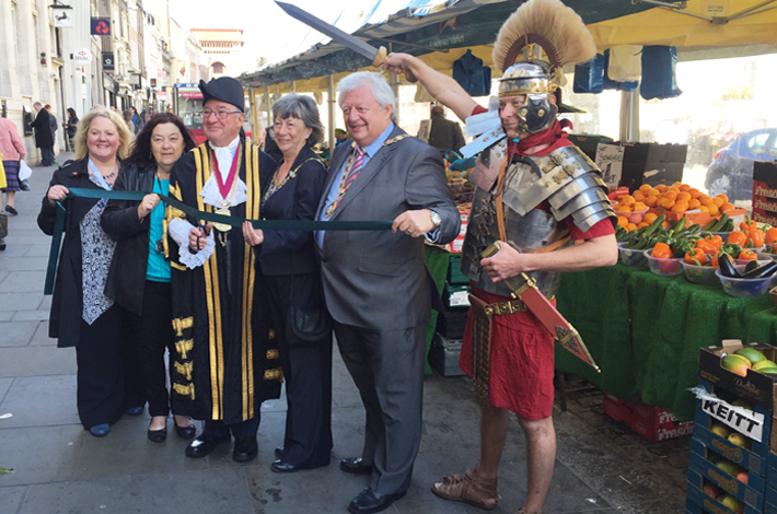 Launch of Colchester Charter Market