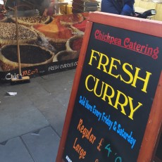 Colchester market curry